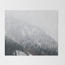 Swiss Alps - v2 Throw Blanket