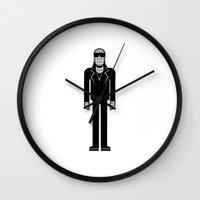 stevie nicks Wall Clocks featuring Stevie Wonder by Band Land