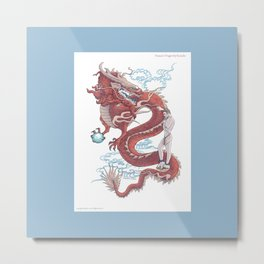 Treasure Dragon Metal Print