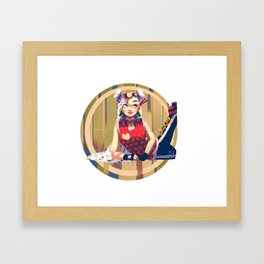 Ramen for Lunch Framed Art Print