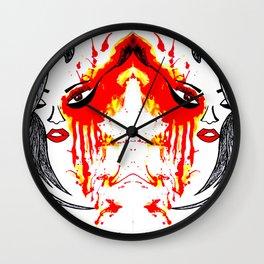 On Fire. Wall Clock