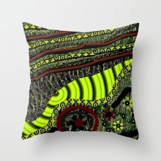 Manton de manila Throw Pillow