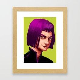 Gaz Framed Art Print