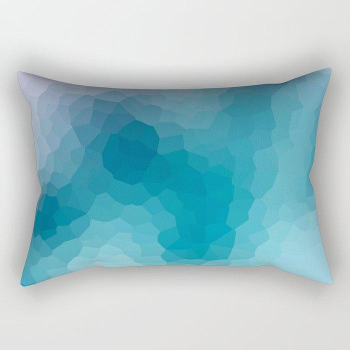"""Abstract pattern """" Amethyst """". Rectangular Pillow"""