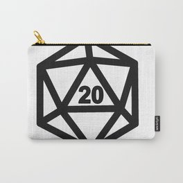 RPG Dice 20 Carry-All Pouch