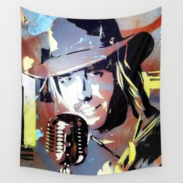 Tom Petty. legend. painting. print. Wall Tapestry
