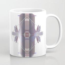 Circles to Angles (Light) Coffee Mug