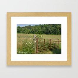 Missouri Landscape Framed Art Print
