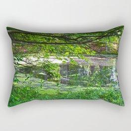 Evergreen Lake Rectangular Pillow