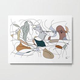 Gulliver in The Loop Metal Print
