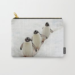 Gentoo Penguins on a Fishing Trip Carry-All Pouch