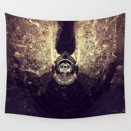 Exposure Art - Golden Devil Wall Tapestry