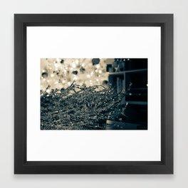 Silver Wreath  Framed Art Print
