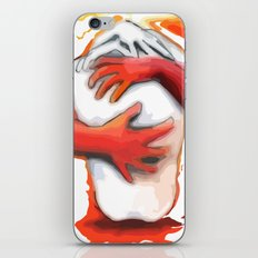 Fiery Embrace iPhone & iPod Skin