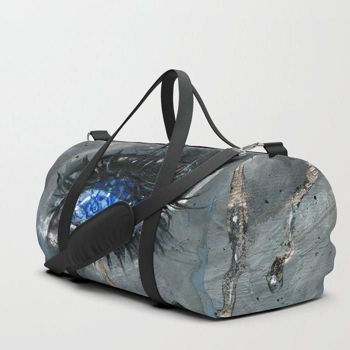 Gzhel Duffle Bag