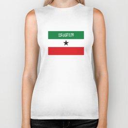 Somaliland republic flag somalia Biker Tank