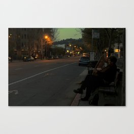 TELEGRAPH Canvas Print