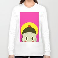 poker Long Sleeve T-shirts featuring Poker Face by Cyborgking