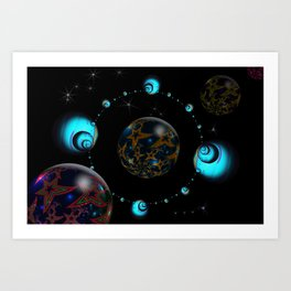 Starry Starry Night Art Print