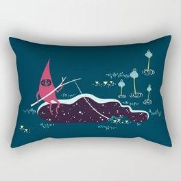 Space fishing Rectangular Pillow
