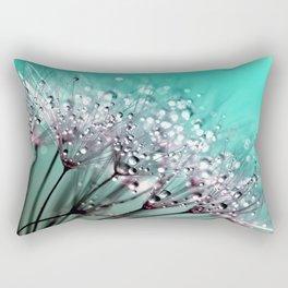 Dandelion Blue Diamonds Rectangular Pillow