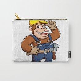Cartoon of a Gorilla Handyman Carry-All Pouch