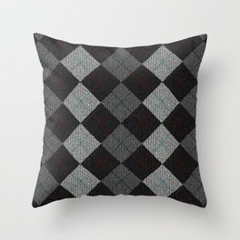 Golf Grey Throw Pillow