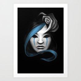 Hair Refined Art Print