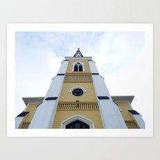 Church Reaches Sky Art Print