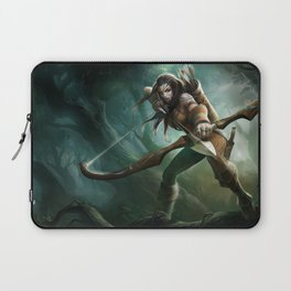 Woad Ashe League of Legends Laptop Sleeve