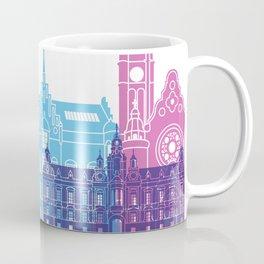 Malmo skyline pop Coffee Mug