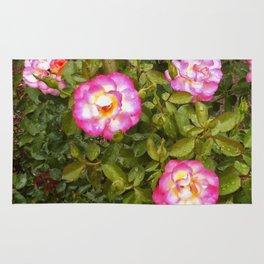 Floral Print 041 Rug