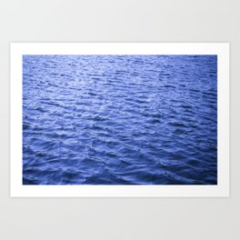Water Ripples at Lock 23 Art Print