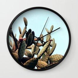 SUmmer Cactus Wall Clock