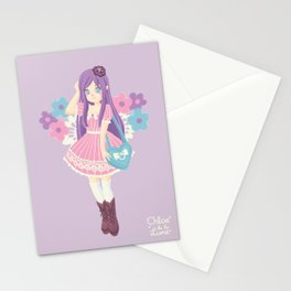 Clara in Harajuku Stationery Cards