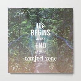 Comfort Zone Metal Print