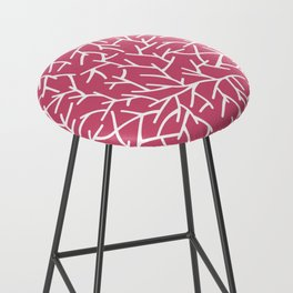 Branches - pink Bar Stool