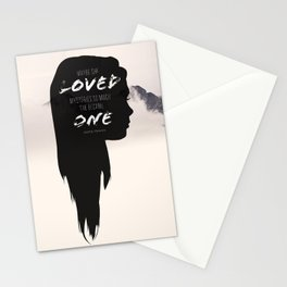 Paper Towns: Maybe she loved mysteries so much Stationery Cards