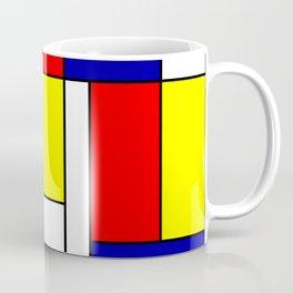 Mondrian #38 Coffee Mug