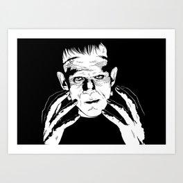 Franky Stein Art Print