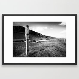 Barrier Framed Art Print