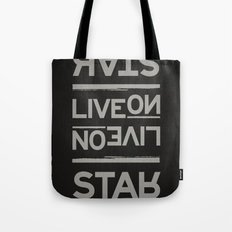 Palindrome: Rats Live On... Tote Bag