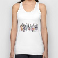 downton abbey Tank Tops featuring Downton Abbey by Yvette