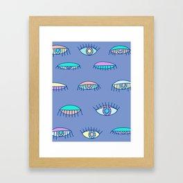 Bedroom Eyes Framed Art Print