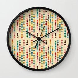 RetroDots Wall Clock