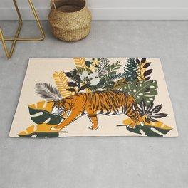 Jungle Pals Series - Golden Tiger Rug