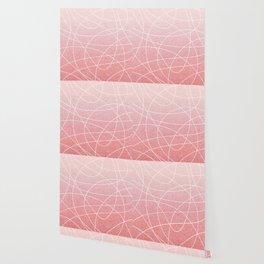 Scribble Linen - Blush Pink Wallpaper