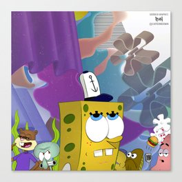 Lil Bobby vs. The World Canvas Print