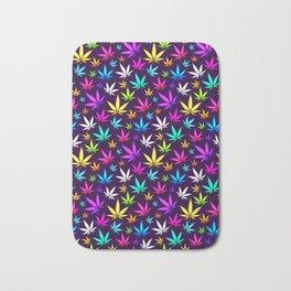 Colorful OG _\|/_ Herb Pattern Bath Mat