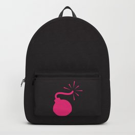 BLACK & HOT PINK BOMB DIGGITY Backpack